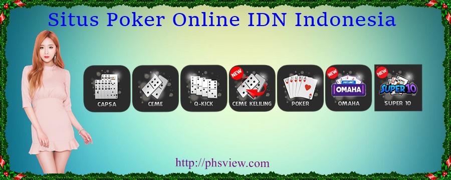 Situs Poker Online IDN Indonesia